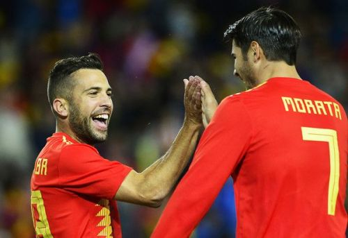 Alba would like his Spanish teammate to join him in Spain