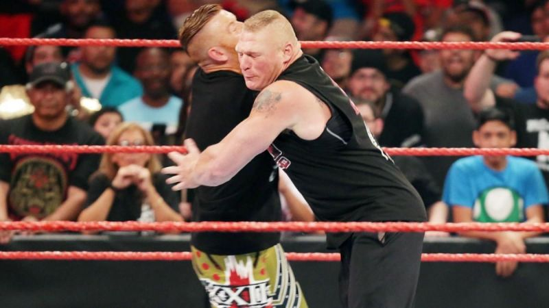 Image result for heath slater brock lesnar