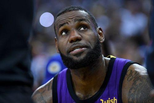LeBron James has 3 triple doubles this season