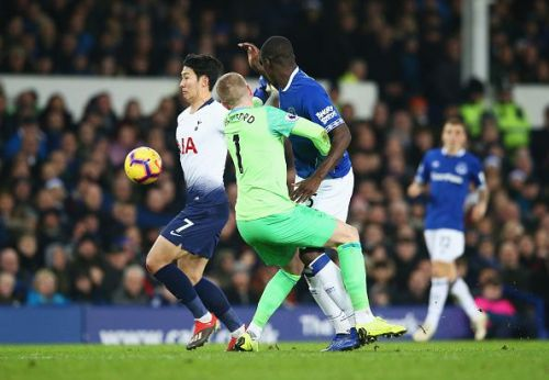 Pickford's blunder of the game
