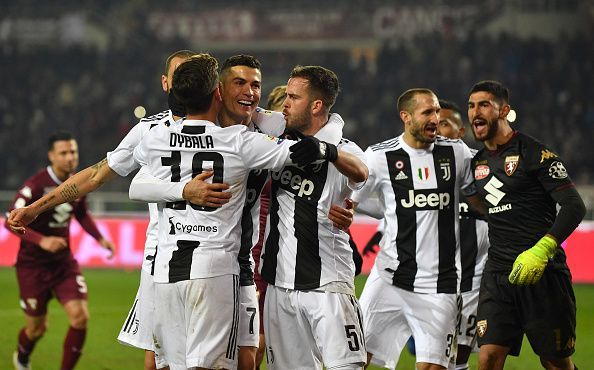 Can Juventus Make It A  From A Possible  Points