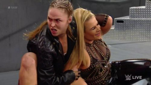 Rousey will feature in a tag team match with Natalya on the upcoming episode of Raw