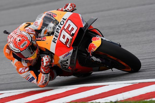 Marc Marquez has five MotoGP championships to his name