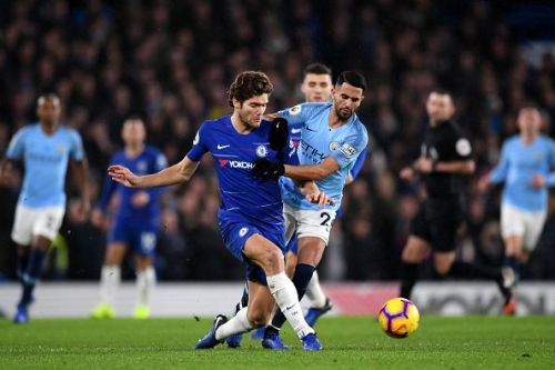 Chelsea handed Manchester City their first league defeat with Alonso shining for the Blues once again