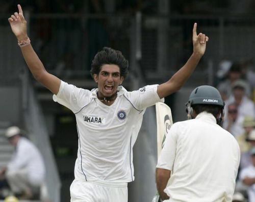 Ishant Sharma tormented Ricky Ponting in an inspired spell at the WACA