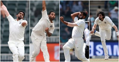 India's Pace bowling quartet