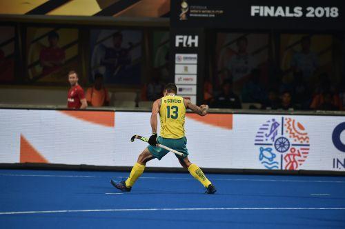 Blake Govers got the first goal for Australia