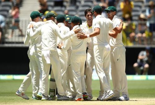 Australia leveled the series at Perth