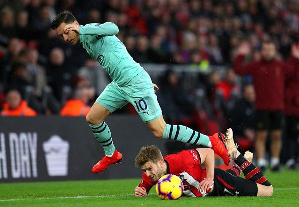 Mesut continues to divide opinion with his performances - cameos under Emery are not helping the cause