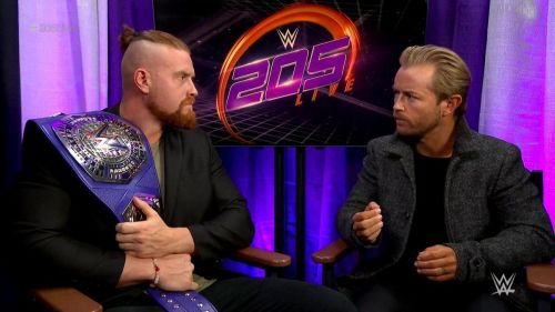 Buddy Murphy had some harsh words for Cedric Alexander...and surprising praise for Mustafa Ali