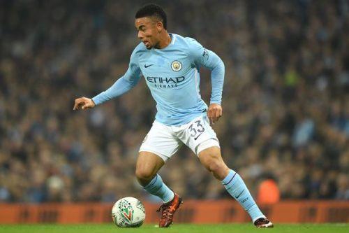 Jesus scored a brace for City