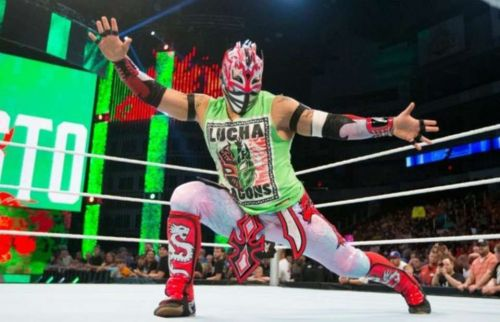 Kalisto currently performs on Raw