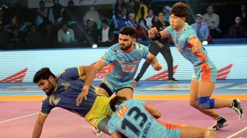 Bengal Warriors' defence was in fine form tonight against Patna