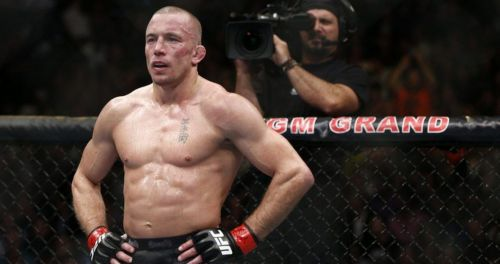 Georges St-Pierre found himself on the outs with the UFC in 2013