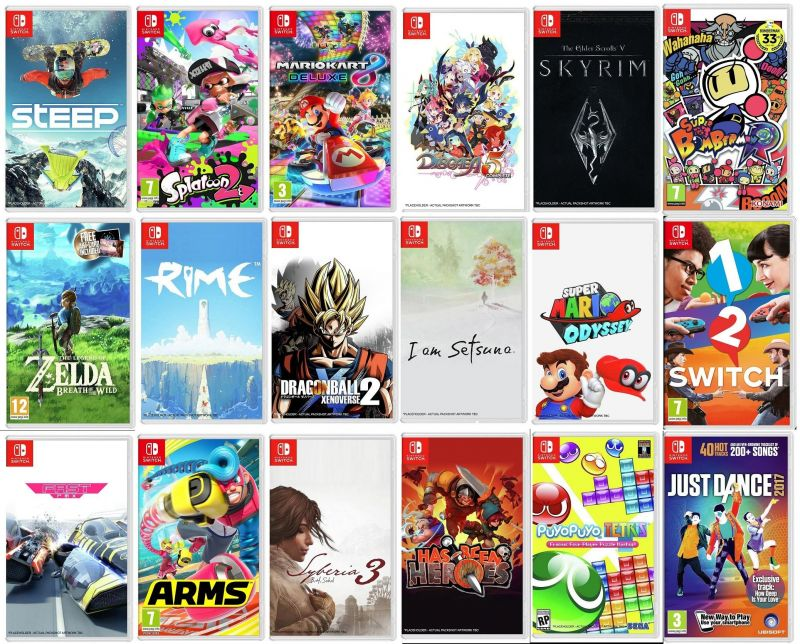 Top 5 Nintendo Switch Games You Should Play