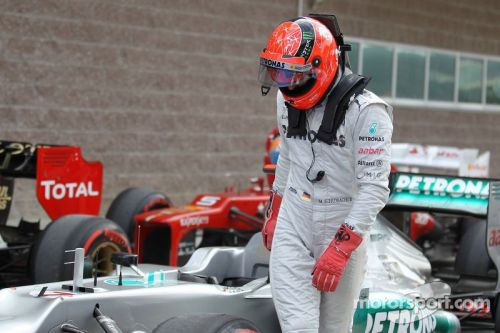Schumacher was the last Mercedes driver to not taste victory.