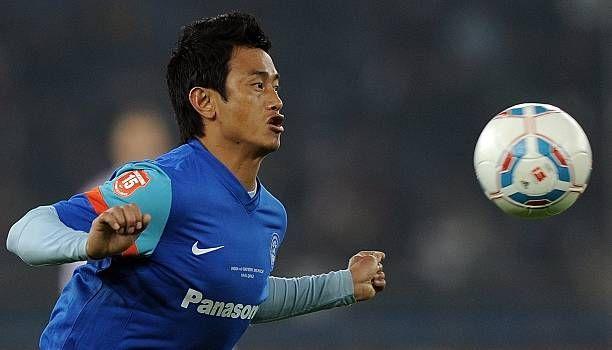 Baichung Bhutia had one spell with Bury in England