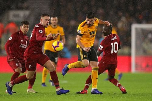 Liverpool extend their lead at the top of the table with a win at Molineux.