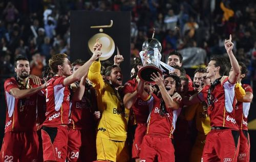 Belgium held their nerve to lift the World Cup trophy for the first time in their history