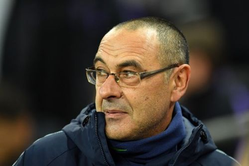 Sarri's Chelsea currently occupying the 4th position