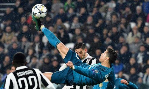 Cristiano Ronaldo's acrobatic goal against Juventus