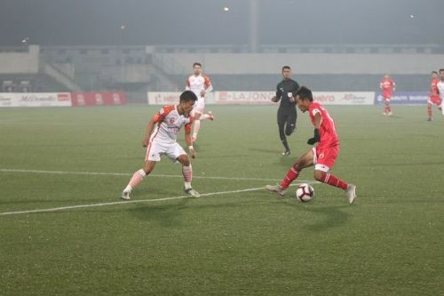 The lack of experience in the Lajong team is also a reason why they haven't been able to convert the positive plays into points