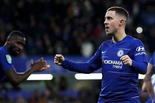 Eden Hazard's future at Chelsea is yet uncertain