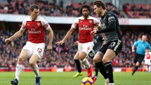 Arsenal hosted Burnley at the Emirates.