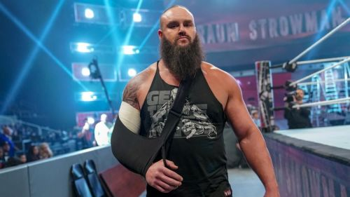 Braun Strowman returned but didn't compete at TLC