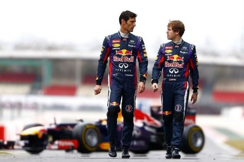 Vettel and Webber had quite the rivalry during their time in Red Bull