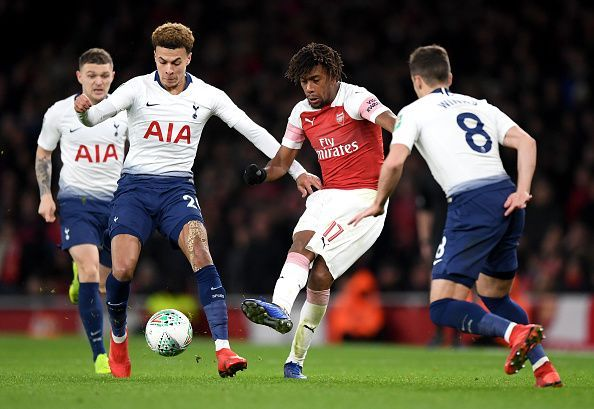 Alex Iwobi has shown flashes of what he can do but is too inconsistent to be relied on as a starter
