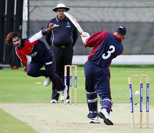 Mahaboob Alam was playing in ICC WCL Division 5 match