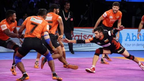 Bengaluru Bulls is currently the table topper of Zone B