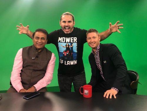 Matt Hardy had a jolly time in India