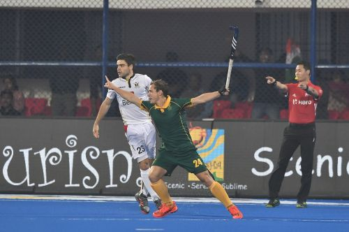 South Africa began with an early opening goal