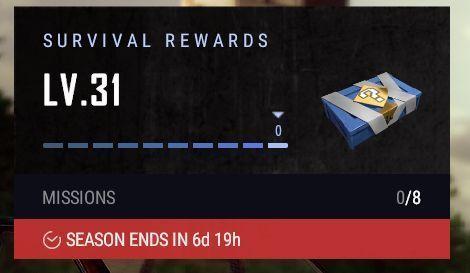 PUBG: Survival Reward Countdown