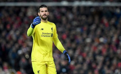 Alisson Becker has been a huge influence in Liverpool's season thus far
