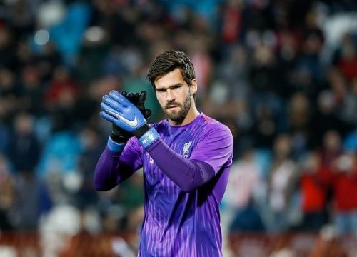 The all-important Alisson Becker