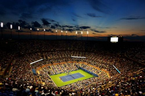 Arthur Ashe Stadium - the venue of many epic battles over the years