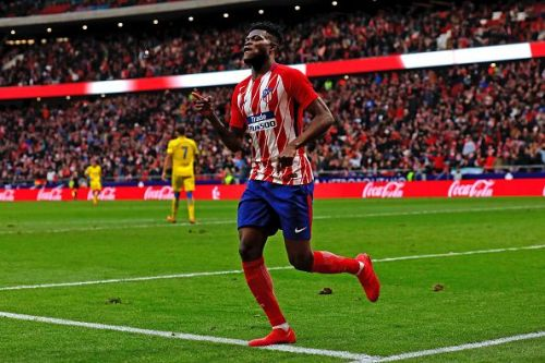 Thomas Partey is unhappy at Atletico Madrid