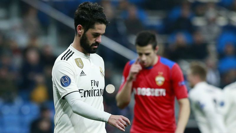 isco not considering real madrid exit in january