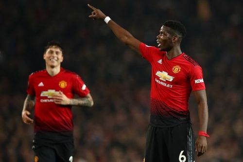 Paul Pogba delivered one of his finest performances in the United shirt against Huddersfield