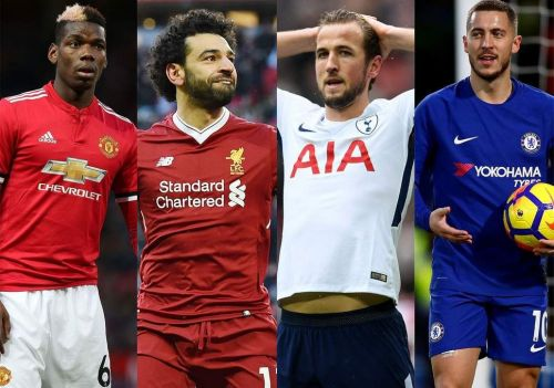 Pogba, Salah, Kane, and Hazard, are all world-class talent amidst the Premier League's top six