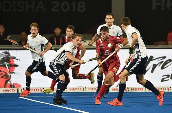 Spain v France - FIH Men