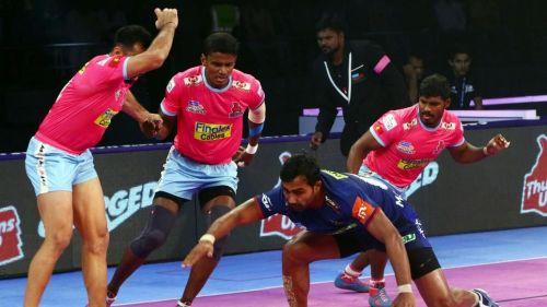 Skipper Monu Goyat found his form in the second half