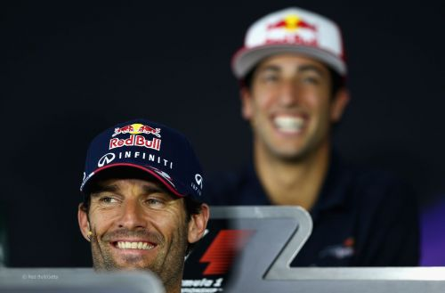 Both the Australians are fast friends and are now ex-Red Bull drivers
