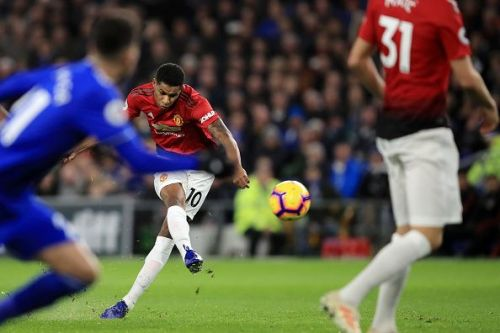 Rashford scored a cracking free-kick to open the scoring against Cardiff