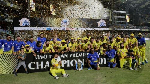 CSK equalled Mumbai Indians record of three IPL trophies in 2018.