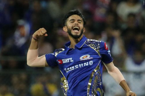 Mayank Markande troubled everyone through his googlies and classic leg spin bowling.