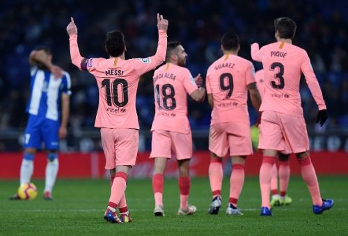 FC Barcelona emerged as the comfortable winners against their arch-rivals Espanyol